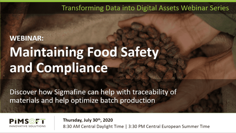 Maintaining Food Safety & Compliance