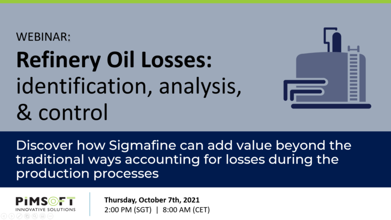 Refinery Oil Losses: identification, analysis & control
